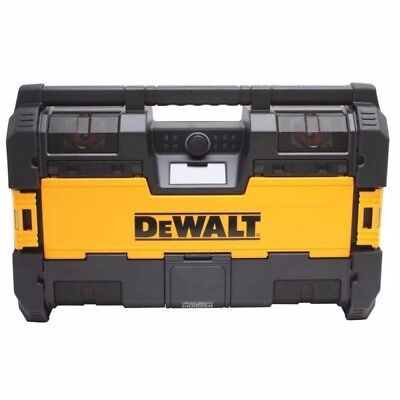DEWALT DWST08810 Tough System Music Radio and Charger, and one Lithium Battery