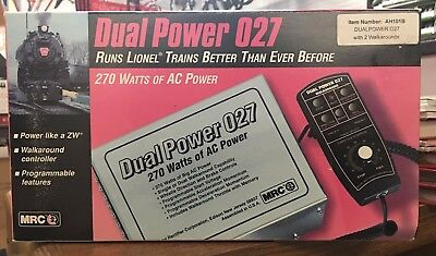 Mrc Dual Power O27 - 270 Watts Ac - No. Ah101B - W - 2 Walkarounds - New