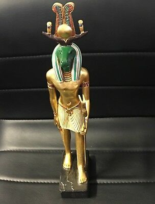 Statue of Egyptian God Sobek by Artisans Guild International