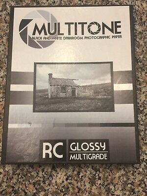 "Inkpress MultiTone BW Glossy Darkroom Photographic Paper, 8""x 10"" 17 sheets"