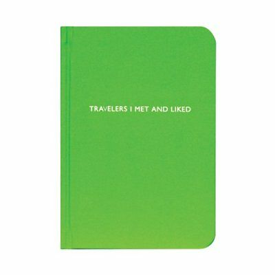 Archie Grand Travelers I Met and Liked Notebook - Green