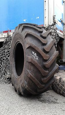 Used Galaxy 19.5LR24 (500/70R24) Agro - Industrial Radial Tire, Backhoe