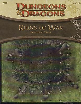 Dungeons & Dragons-D&D-Ruins of War-Dungeon Tiles-Battlefield-RPG-Tabletop-new