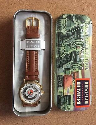 Lionel Legendary Trains Collectible Watch With Moving Train And Sounds In Tin