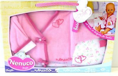 Baby Doll Bathtime Outfit - Dolls Clothes New To Suit 42cm Doll Nenuco