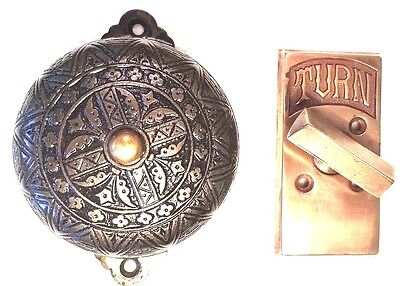 Victorian  twist type Doorbell
