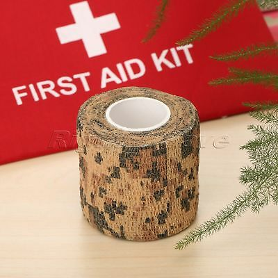 5 Colour 5cm*4.5M Elbow Elastic Bandage Knee Tactical Pad Support Adhesive Tape