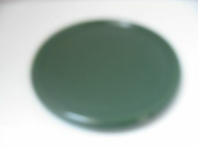 Longaberger Pottery One Pint Crock Candle Coaster *IVY GREEN* Lid