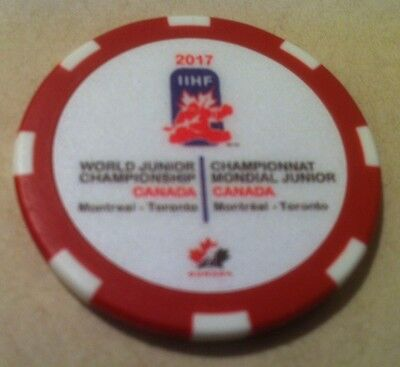 2017 World Junior Hockey Championship WJC IIHF Chips & Pins