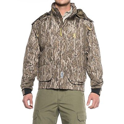 122a138128794 NEW BROWNING WICKED Wing Timber Wader Jacket Coat Bottomland Camo ...