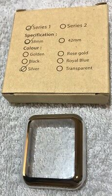 Protective Case For Apple Watch Series 1 38mm Silver