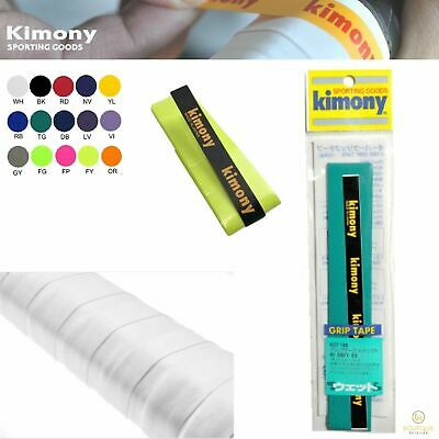 KIMONY Tennis Over Grip Hi Soft Ex Badminton MADE IN JAPAN KGT100 New