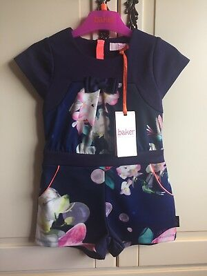 Brand NEW Girls Ted Baker playsuit. 3-4 Years