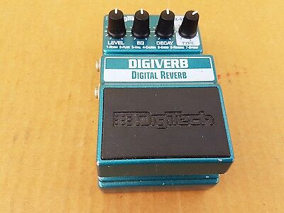 DIGITECH DIGIVERB REVERB PEDAL - made in USA