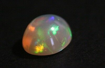 3.38ct Welo Crystal Opal Cabochon - Neon Flash AAA Jelly Opal - See Video