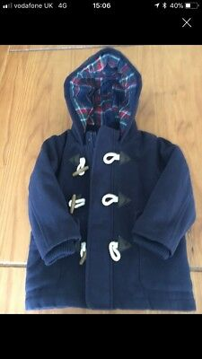 Boys Next Duffle Coat 18-24 Months