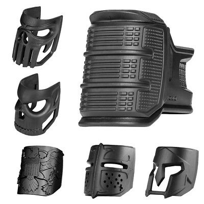 FAB Defense Improved Ergonomic Magwell Grip w/ Finger Grooves - MOJO Grip