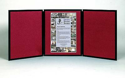 """Folding 3 panel 70"""" x 36"""" wine display for use with genuine Velcro ® hook tape"""