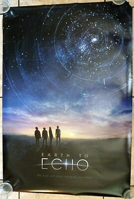 MOVIE POSTER - Earth to Echo - original DS movie poster 27x40