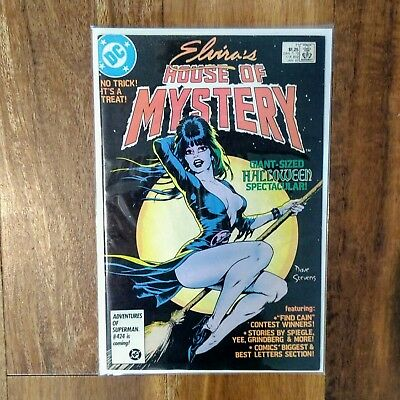 Elvira's House Of Mystery #11 Giant-Sized Halloween Spectacular DC Comics 1987