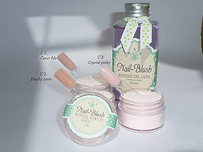 Acrylic powder Crystal Pinky 15g by Nail-Blush