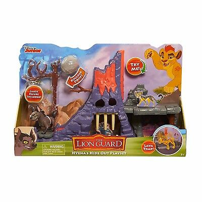 Just Play Disney Junior The Lion Guard Hyena's Hideout Playset - 100% BRAND NEW
