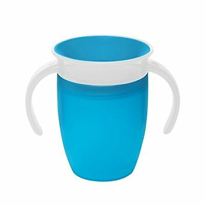 Munchkin Miracle 360 Degree Trainer Cup, 7 oz 207 ml, Blue