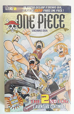 Manga One Piece LOG 2 L'aventure Continue ! Glénat 450pages