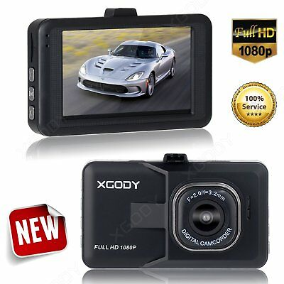 HD 1080P 3'' Car Vehicle DVR Dashboard Camera Video Dash Cam Recorder G-sensor