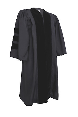 Deluxe Doctorate Doctoral Graduation Gown / Robe - High-Quality - Sale