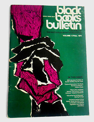 Black Books Bulletin Vol.1 No.1 Fall 1971