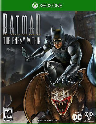Batman The Enemy Within The Telltale Series: Season Pass Disc Microsoft Xbox One