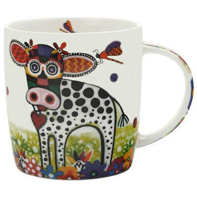 Maxwell & Williams Betsy Smile Style Mug 370ml Cow Design for Coffee/Tea/Drink