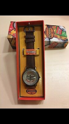 Rare Dr. Pepper Fossil Watch, Brand New, Vintage, Collectible, New Battery