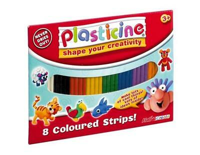 Plasticine in 8 Colours