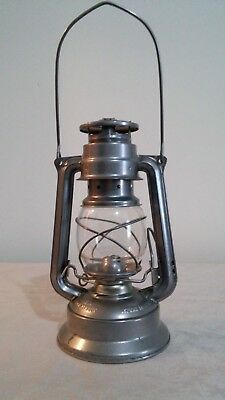 Vintage Meva 864 Oil Kerosene Lantern Lamp Made in Czech Republic