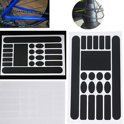 Bicycle Chainstay Frame Protector Kit Bike Sticker Cycling Paint Protection Film
