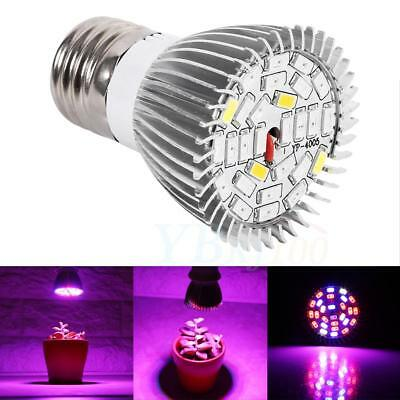 E27 28W LED Growing Light Lamp Plant Bulb Efficient Hydroponic Full Spectrum