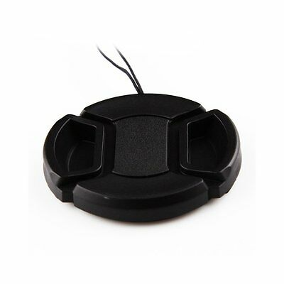 NEW Replacement 77mm 77 Snap-On Front Lens Cap Cover for Nikon Canon DSLR Camera
