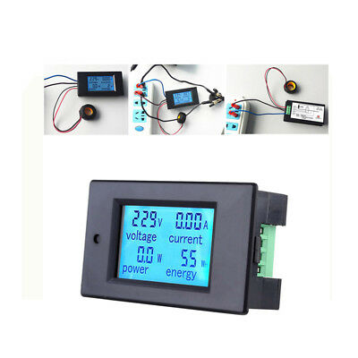 DC 100A Digitale LED LCD misuratore Monitor Power Energy Voltimetro Amperometro