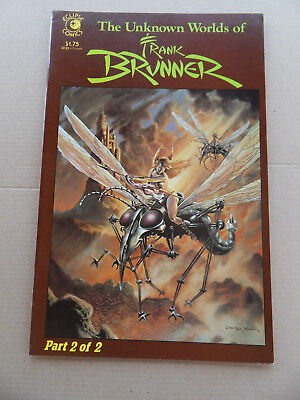 The Unknown World Of Frank Brunner  2 of 2 .  Eclipse 1985 . FN / VF