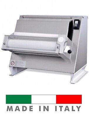 "Starpizza One Pass Pizza Dough Single Roller Sheeter 110V , 12"" Rolling Machine"
