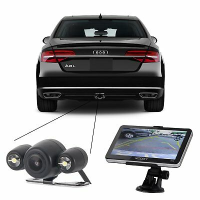 "Wireless Reversing Back up Rear Camera With LED Light For 5"" 7"" GPS Navigation"
