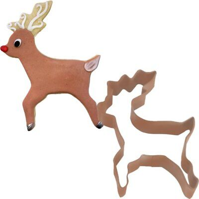 Reindeer Shaped Cookie Cutter Christmas Party Baking