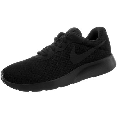 Nike Tanjun men's low-top sneakers black casual shoes trainers feather-light NEW