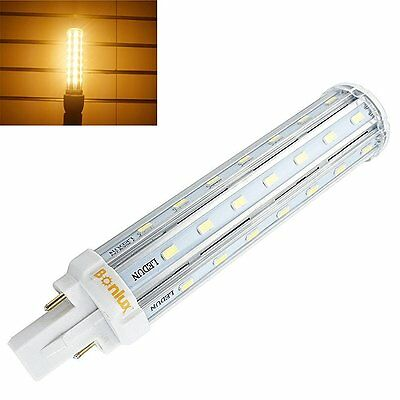 13W G24d 2-pin LED PLC Lamp Recessed Compact PL Light Bulb 30W CFL Replacement