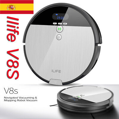 ILIFE V8S Vacuum Cleaner Smart Aspirador Robot LCD Display Aspiradora Limpieza