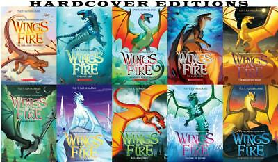 Tui T Sutherland WINGS OF FIRE Series HARDCOVER Collection Set of Books 1-10