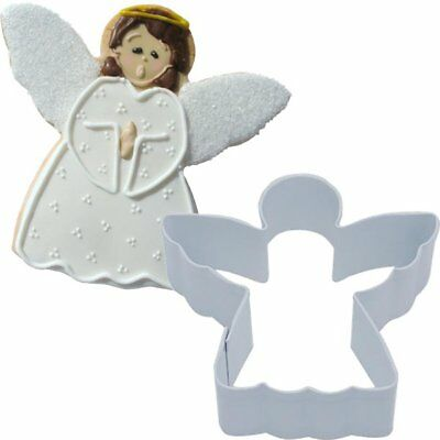 Angel Shaped white Cookie Cutter Christmas Party Baking Sugarcraft Decoration