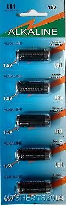 5 x Eunicell LR1 MN9100 E90 1.5V  Type N Alkaline Battery Batteries MX15
